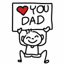 fathers day book COLOURBOX10294368